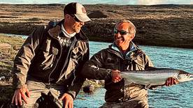 Robson And Jim's Icelandic Fly Fishing Adventure - Episode 3