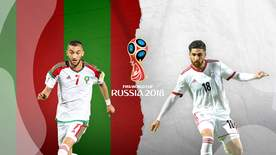 World Cup - Group B: Morocco V Iran