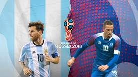 World Cup - Group D: Argentina V Iceland