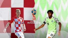 World Cup - Group D: Croatia V Nigeria