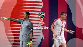 World Cup - Group E: Costa Rica V Serbia