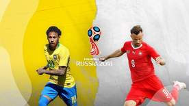 World Cup - Group E: Brazil V Switzerland