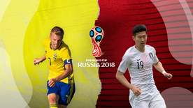 World Cup - Group F: Sweden V South Korea