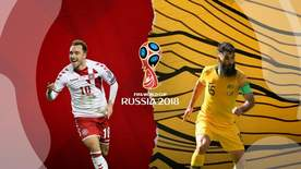 World Cup - Group C: Denmark V Australia