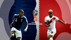 World Cup - Group C: France V Peru