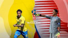World Cup - Group E: Brazil V Costa Rica