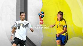 World Cup - Group F: Germany V Sweden