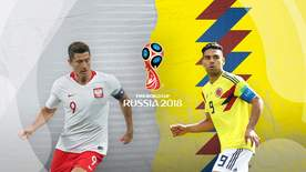 World Cup - Group H: Poland V Colombia
