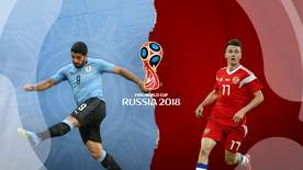 World Cup - Group A: Uruguay V Russia