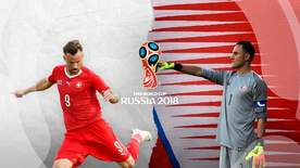 World Cup - Switzerland V Costa Rica