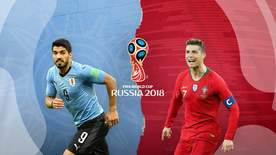 World Cup - Uruguay V Portugal
