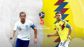 World Cup - Colombia V England