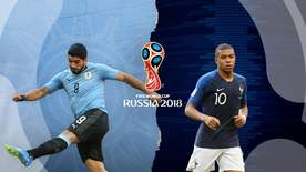 World Cup - Uruguay V France