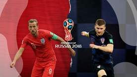 World Cup - England V Croatia