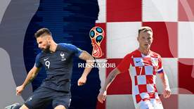 World Cup - France V Croatia Live Final