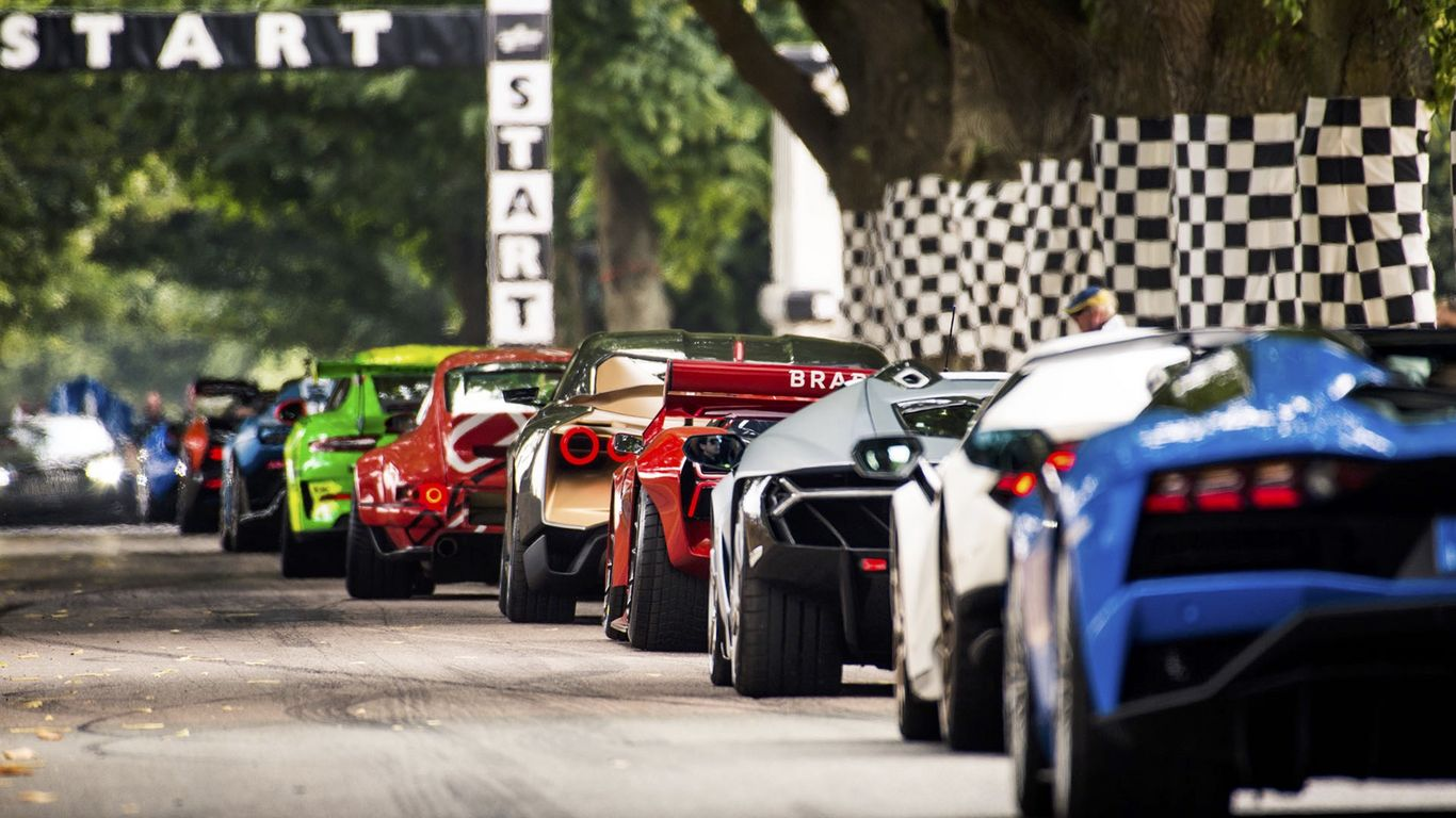 Festival Of Speed >> Goodwood Festival Of Speed Watch Episodes Itv Hub