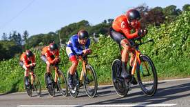Cycling: Tour Of Britain - Stage 3 - Llandeilo To National Botanic Garden Of Wales