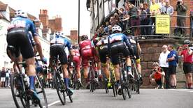 Cycling: Tour Of Britain Highlights - Nuneaton - Royal Lemington Spa