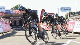 Cycling: Tour Of Britain Highlights - Stage 3 - Llandeilo To National Botanic Garden Of Wales