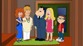 American Dad! - Stan & Francine & Connie & Ted