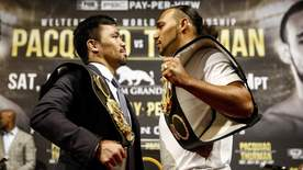 The Big Fight - Pacquiao V Thurman - Face To Face